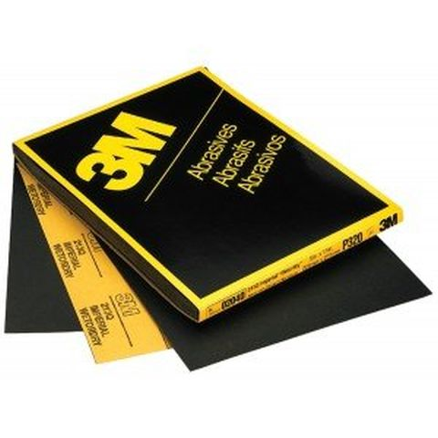 3M Sandpaper - 9''x11'' Imperial Wetordry 280 Grit