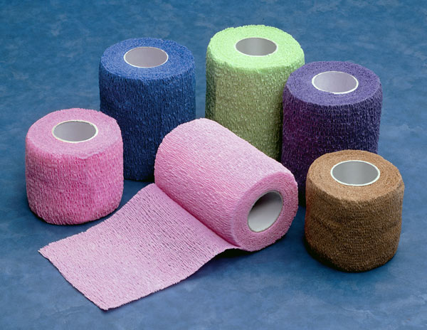 Self-Adherent Bandages  21in x 5yd Latex Free