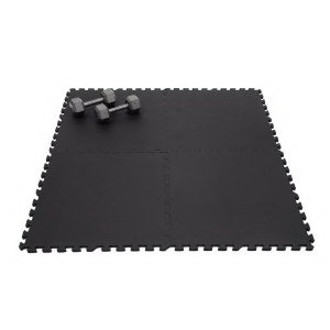 Multi-purpose Interlocking Black Foam Floor Mat