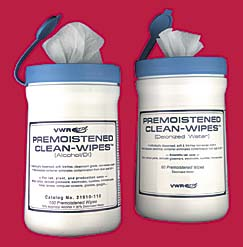 Premoistened Alcohol Clean-Wipes