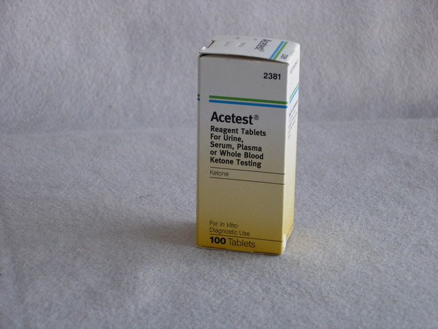 Acetest Reagent Tablets for Urinalysis