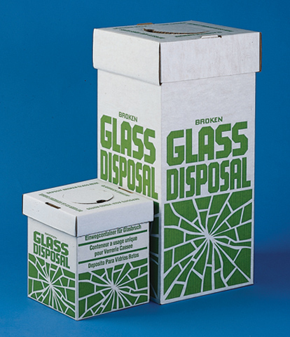 Scienceware® Broken Glass Disposal Boxes Benchtop Model