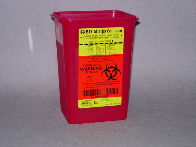 BD Sharps Collector -1 Quart