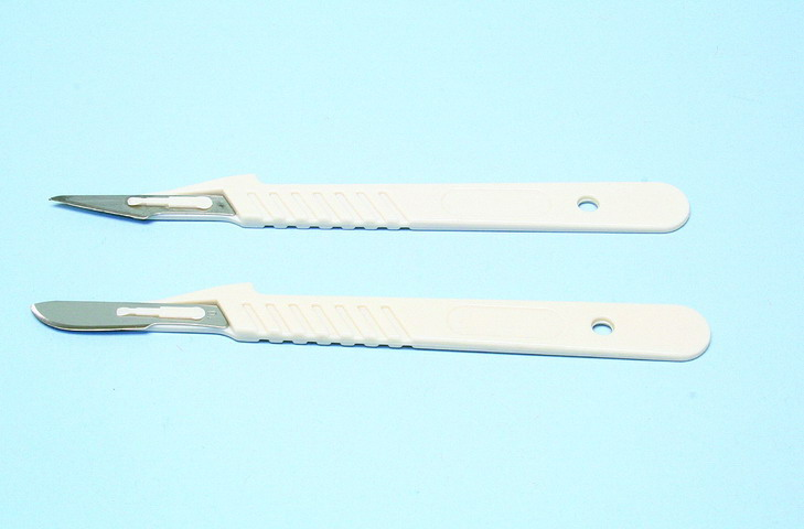 Disposable scalpels #22