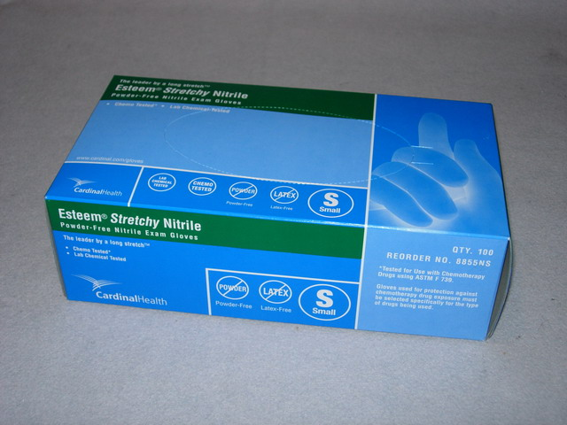 Esteem Nitrile Gloves - Small