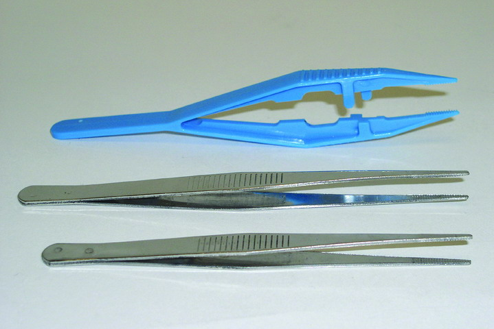 Stainless Steel Forceps, 5