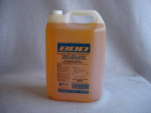 Decon BDD Bacdown Detergent Disinfectant