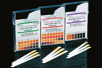 pH Strips Range: Intermediate, 5 to 10pH