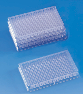 Clear Polystyrene 384-Well Plate
