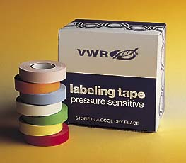 Colored Label Tape: 3/4 in. x14 yard - White