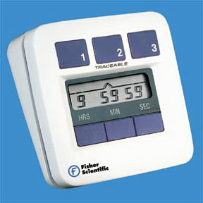 Countdown Timers 4, Timer range: 10 hours; LCD display: 0.25 in. H