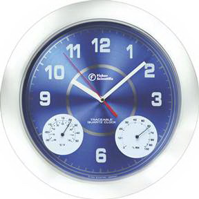 Traceable* Clock/Thermometer/Humidity Meter,