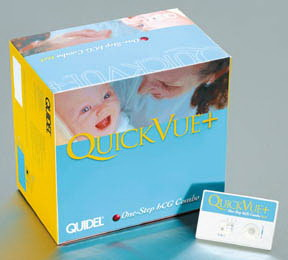 QuickVue+* One-Step hCG Combo Lateral Flow Test Kit (30 Tests)