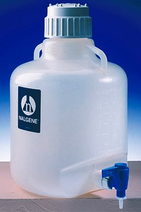 Carboy with Spigot - 13 Gal