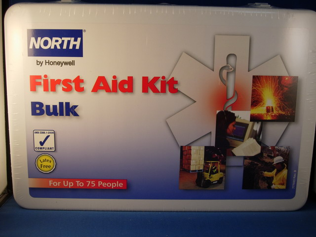 First Aid Kit, Metal, 75 person
