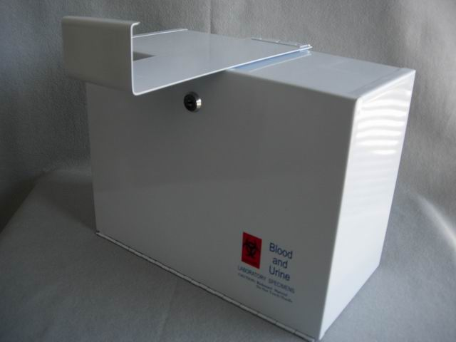 Specimen Lock Box (Top Door) removable hinge