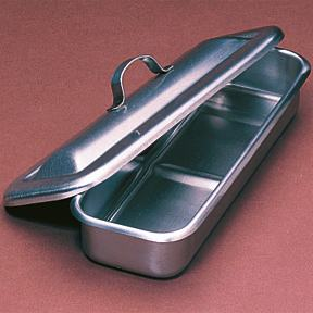 Stainless - Steel Utility Trays with Cover - Large