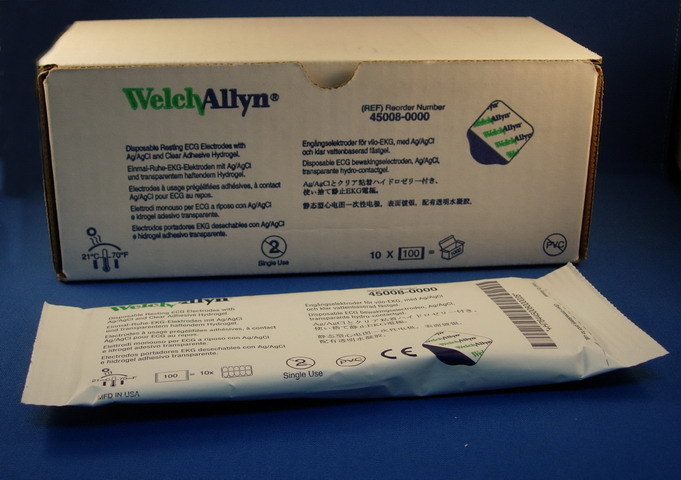 EKG Electrodes for Welch Allyn