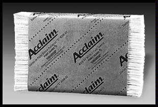 Acclaim® Paper Towels, 9.25 x 9.5, 1 Ply, White