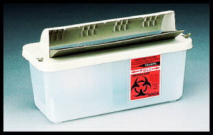 In-Room® Sharps Disposal Systems, 5 qt