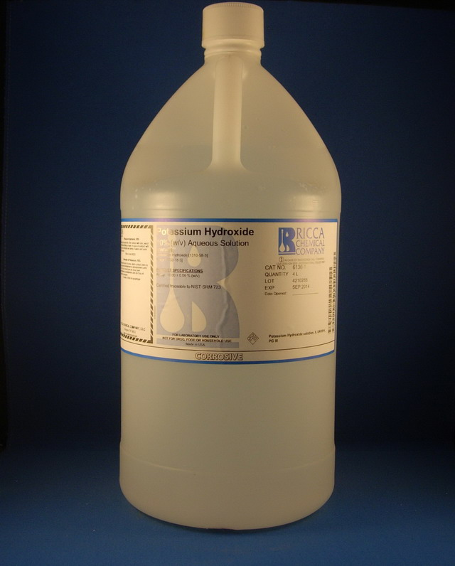 Potassium Hydroxide, 10% (w/v) Aqueous Solution