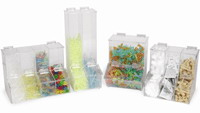 4-Place Workstation Dispensing Bins