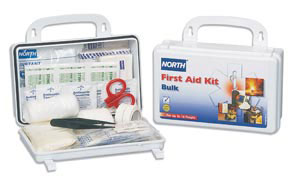 First Aid Kit, plastic, 25 person