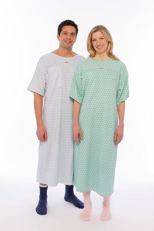 Designer Hospital I.V. Snap Gown (Green) | Medix ®, your on-line ...