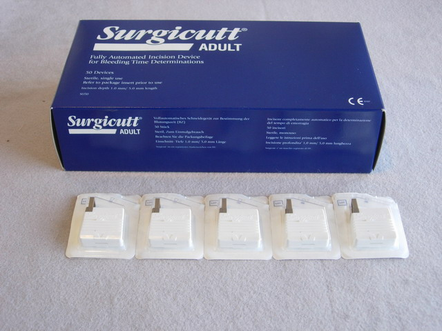 Surgicutt Bleeding Time Device Medix 174 Your On Line